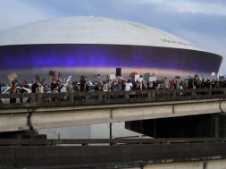 New Orleans protest AP