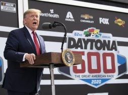 Donald Trump Daytona AP