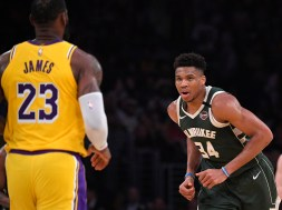 Giannis Antetokounmpo, LeBron James