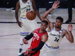 Rockets Westbrook Bucks Giannis AP