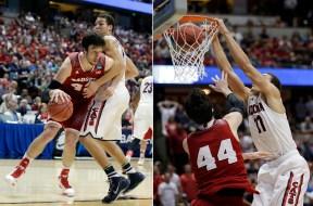 NCAA Wisconsin Arizona Basketball