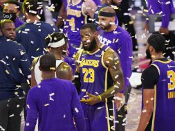 Lebron James Lakers AP