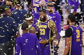 Lebron James Lakers AP