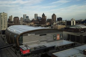 Bucks Fiserv Forum AP