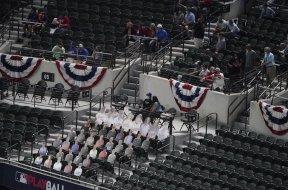 Fans texas MLB