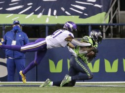 Seahawks DK Metcalf vs Vikings AP