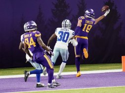 Adam Thielen Cowboys Vikings AP