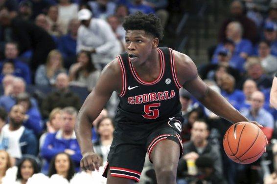 Anthony Edwards Georgia Minnesota AP