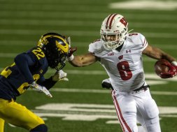 Badgers Jake Berger AP