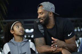 Kobe Bryant Daughter AP