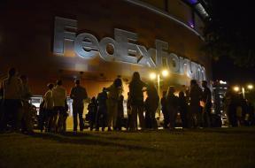 FedExForum fire alarm AP