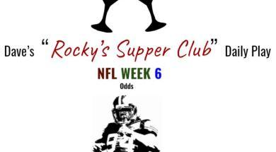 nfl week 6