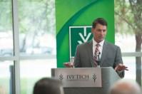 Ivy Tech Community College Chancellor Jonathan Weinzapfel