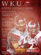 WKU Football summer camps
