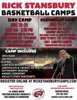 Hilltopper Basketball summer camps