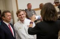 U.S. Sen. Rand Paul spoke to WKU students on Oct. 3.