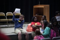 University Experience students visited Bowling Green High School on Nov. 2.