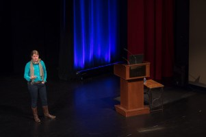 Sarah Parcak visited WKU on Feb. 15 as part of the Cultural Enhancement Series.