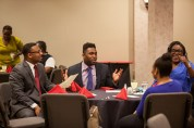 The Graduate School hosted an event March 24 for the Distinguished Minority Fellows program.