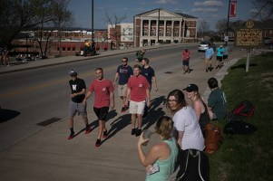 Walk a Mile in Her Shoes was held April 4.