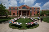 The Student United Way hosted a yard sale on April 19.
