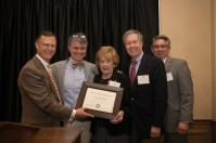 Mary Ellen Miller was recognized as WKU Poet Laureate at the 25-Year and Retirement Dinner on May 1.