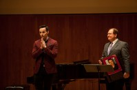 WKU graduate Bronson Murphy was inducted into the Music Department's Wall of Fame on May 3.