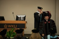 The Educational Leadership Doctoral Program conducted a hooding ceremony on May 12.