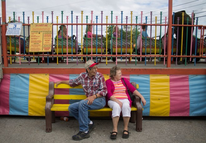 The Annual Honey Festival draws crowds of all ages to Leitchfield, KY. The festival consists of carnival rides, food carts, craft vendors and, of course, lots of honey. JENNIFER KING