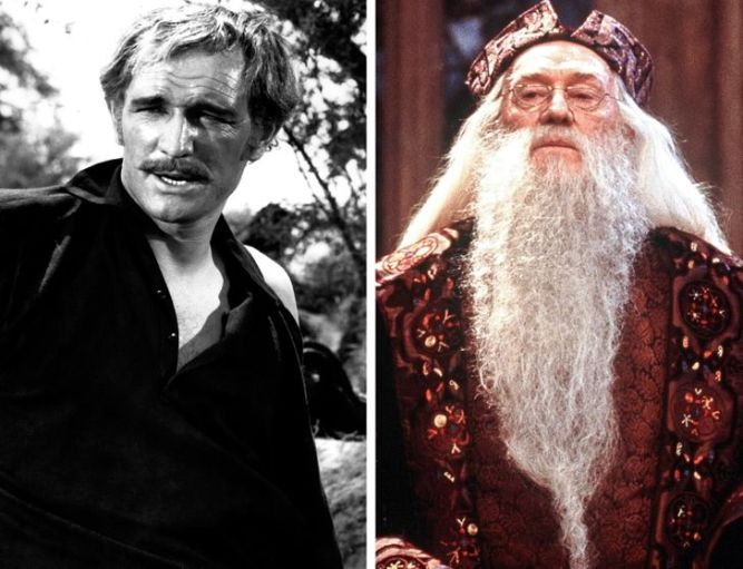 Richard-Harris-gencligi-harry-potter-oyuncularinin-genclik-rolleri