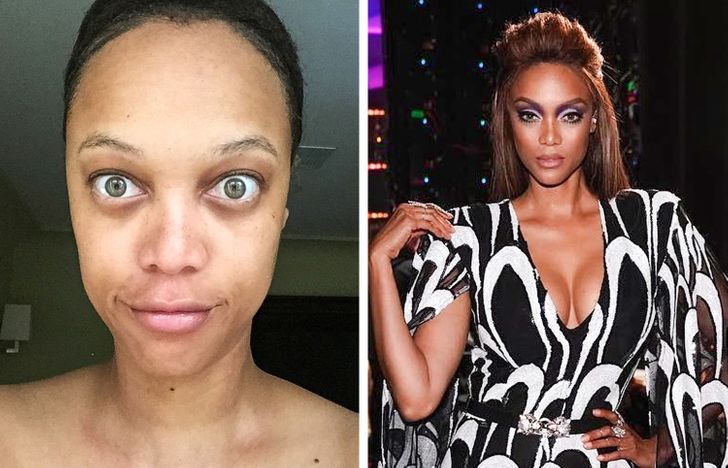 16 Celebrities Who Are Totally Unrecognizable Without Makeup