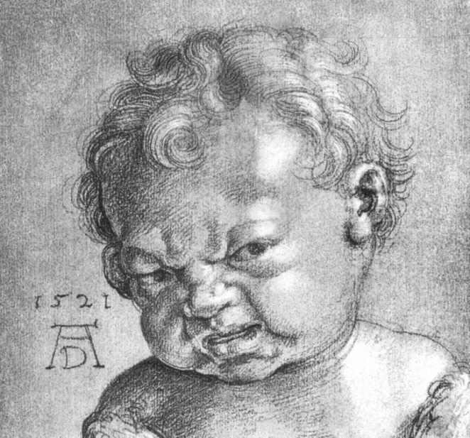 Why Babies in Old Paintings Look Like Old Men