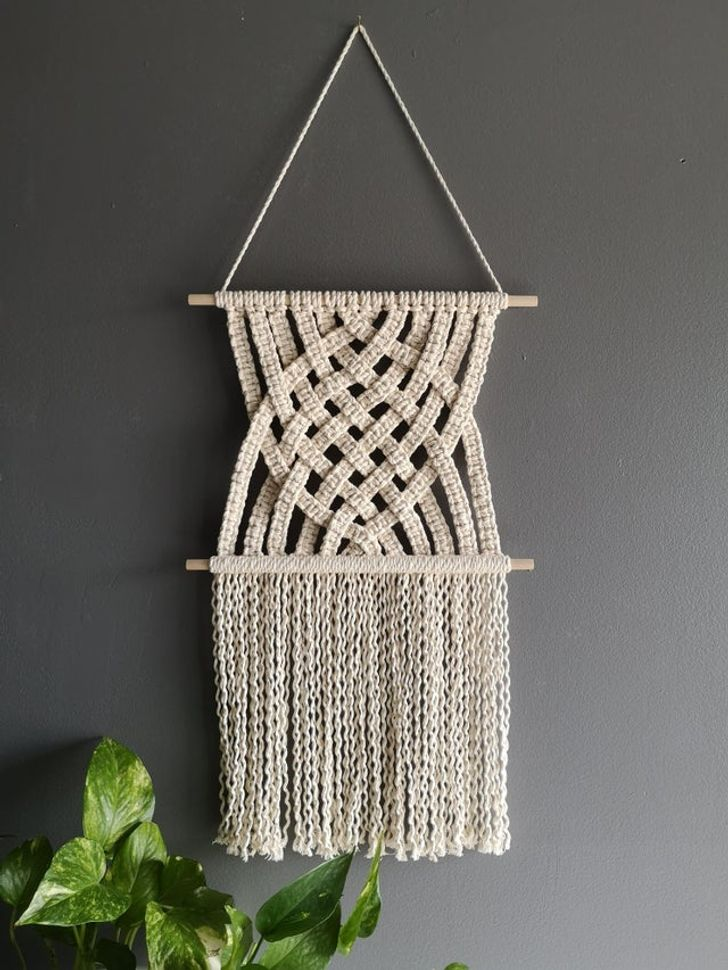 20+ Reddit Users Decorated Their Home With Macrame And Showed Their Results