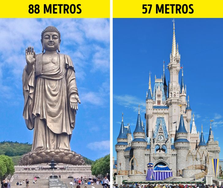 11+ Gigantic statues of the world that make Liberty look like a dwarf
