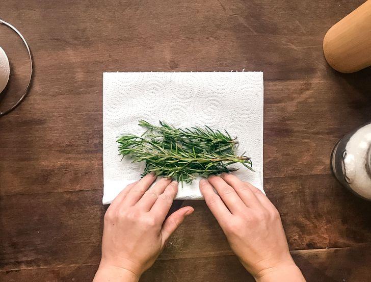 Cómo conservar las hierbas frescas