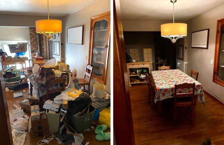 20 Pièces en désordre qui ont complètement changé après un bon nettoyage