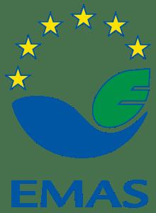EMAS - znak ekologiczny na materiałach informacyjnych