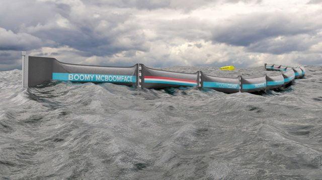 Ruszyły testy bariery Ocean Cleanup która ma pomóc posprzątać oceany z plastikowych odpadów