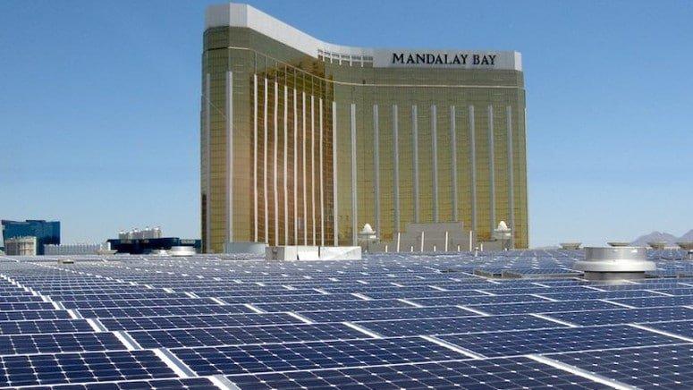 W Las Vegas powstała największa w USA dachowa elektrownia słoneczna