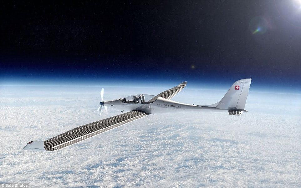 SolarStratos czyli stratosferyczny samolot zasilany słońcem
