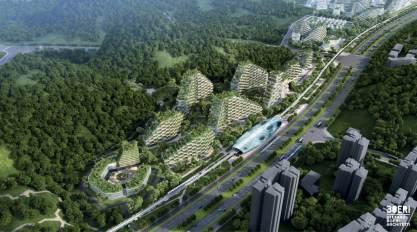W Chinach ruszyła budowa Liuzhou Forest City czyli samowystarczalnego, leśnego miasta - wlaczoszczedzanie.pl / @ Stefano Boeri Architetti