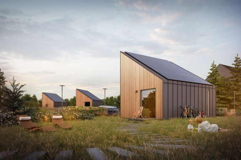 Dom plus energetyczny Solace House