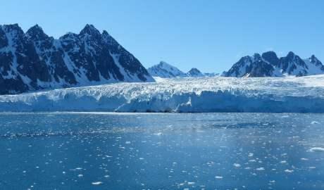 Wybrzeża Spitsbergenu są szczególnie wrażliwe na zmiany klimatu
