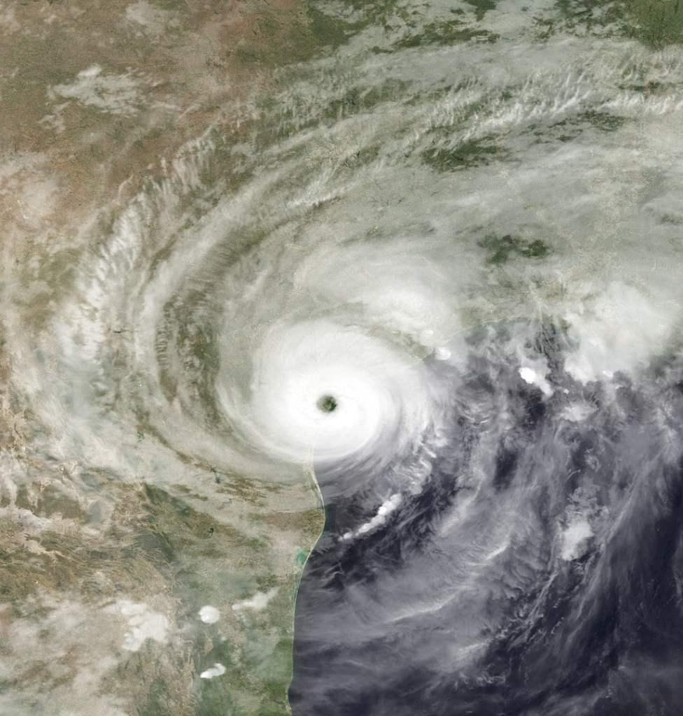 2017 rok, sierpień - Teksas - huragan Harvey