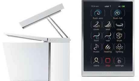 W inteligentnej łazience za pomocą komend głosowych dostosujemy temperaturę wody natrysku czy podniesiemy deskę klozetową
