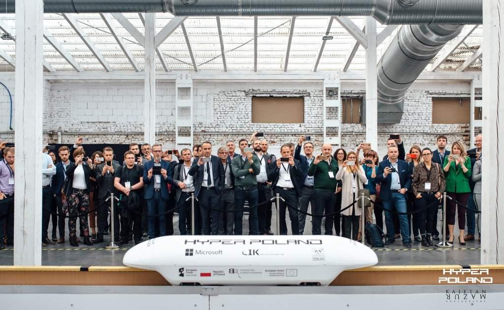 Hyper Poland zaprezentował technologię magrail