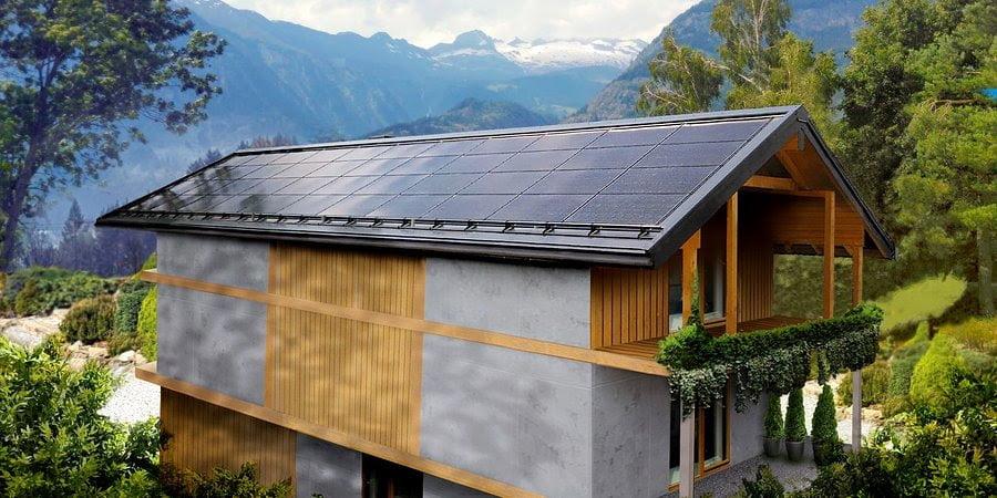 Pionierska realizacja dachu solarnego SunRoof w Szwajcarii