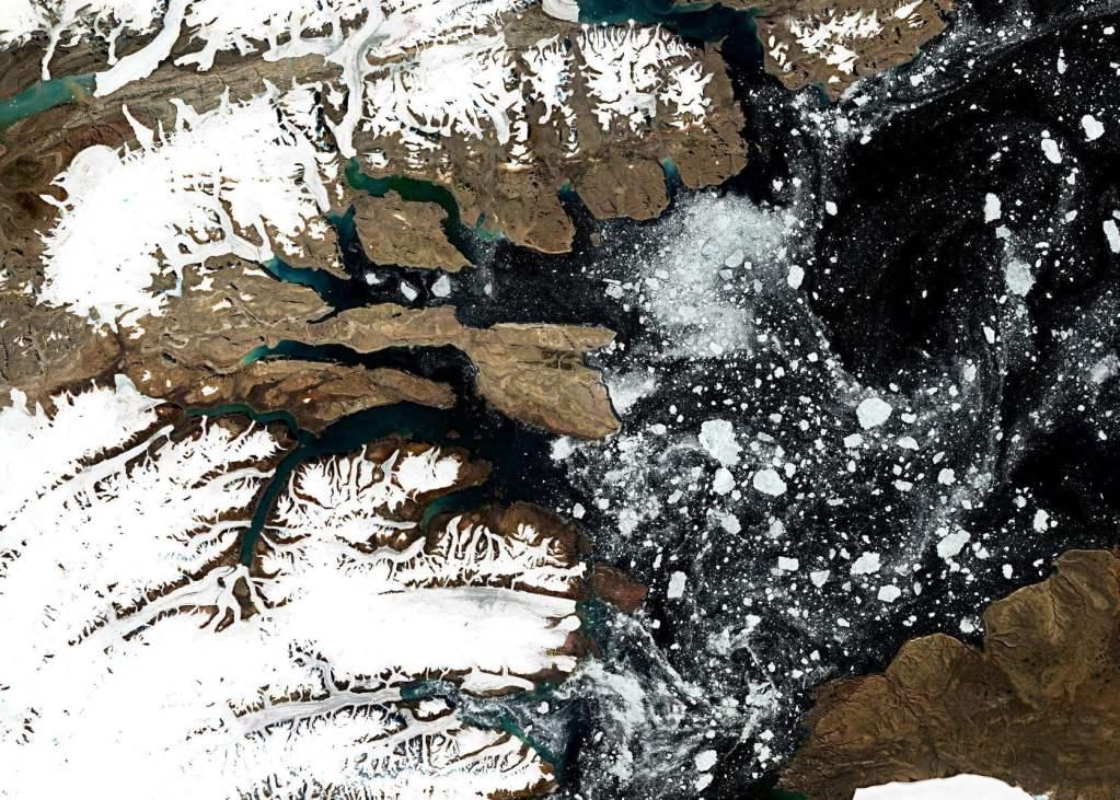 Najpiękniejsze zdjęcia satelitarne Ziemi widzianej z kosmosu