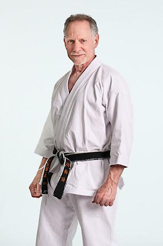 Sensei Alan Weil. Head instructor at West Los Angeles Karate