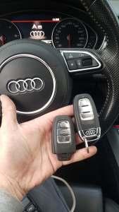 dorobienie i zakodowanie klucza Audi A4 2014 Bytom